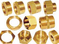 Brass Fittings (pipe fitting, nut, full bore fitting) /Compression Fitting