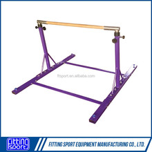 CE certificated Gymnastic equipment kids horizontal bar manufacturer from China