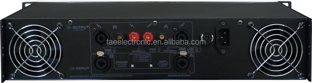GPS Power Amplifier System Speaker Amplifier PA system 2U Amplifier Home Theatre Amplifier