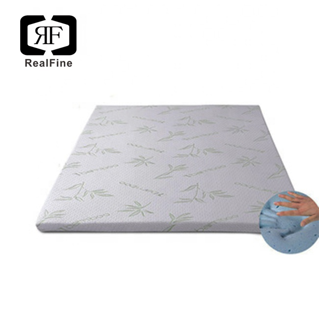 Superior Quality Ventilated 5cm Bamboo Gel Infused Memory Foam Mattress Topper - Jozy Mattress | Jozy.net