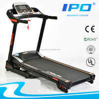 alibaba china supplier manual mutifunction LCD Monitor home fitness foldable treadmill / price of running machine