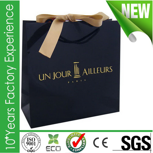 R-AD551_paper shopping bag Plastic new coming paper shopping bag shopping paper bag
