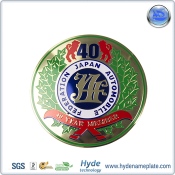 Special Design Car 3D electroplating Logo Sticker Badge Auto Emblems