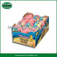 High quality pink bouncing rubber ball