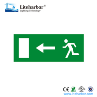 Running Man Double Sided LED Exit Sign Kits With Left,Right,Down Arrow
