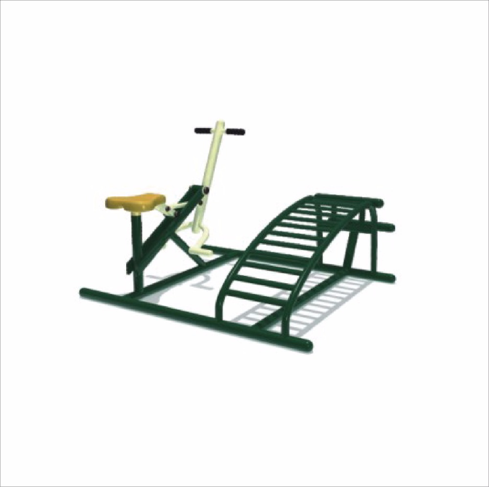 HLB-7109F Abdominal Exercise Device Outdoor Gymnastic Equipment