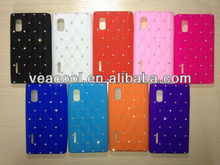 Luxury Bling Diamond Crystal Star Soft Silicone Case Cover for LG E610 Optimus L5
