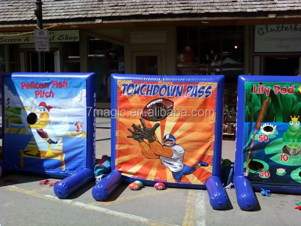 Hot sale high quality Inflatable Carnival Games for people