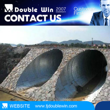 high quality drainage helical corrugated steel culvert pipe