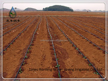 ISO GB Drip Irrigation soft Tube with round dripper for agriculture irrigation