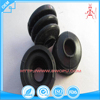 High precision black silicone rubber bellows for pipe connection