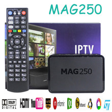 Powerful Mag 254 Function Wifi Iptv Box Media Streamer Full Hd Tv 3d Video Updated Mag 250 stb