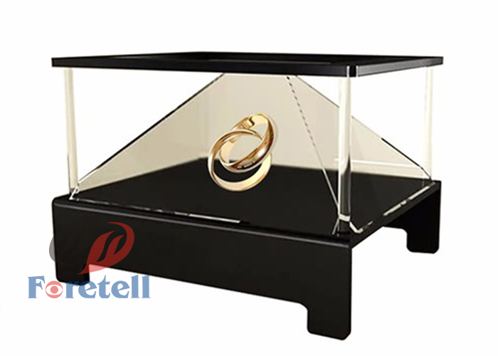 "10""-108"" Inch customized 3d holographic projection 3d pyramid holographic display"
