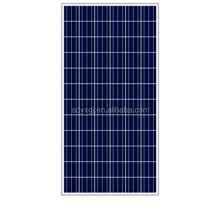 Poly-crystalline silicon solar battery 140-155W