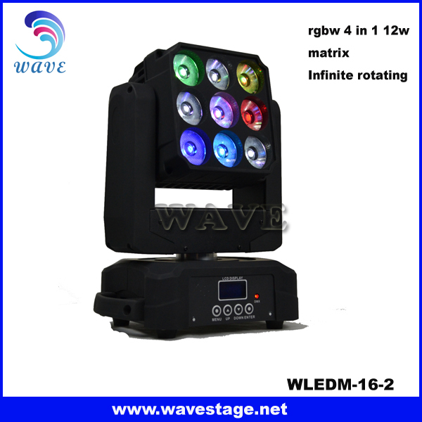 WLEDM-18-2B Hot bee eye led moving head light led mini moving head manual