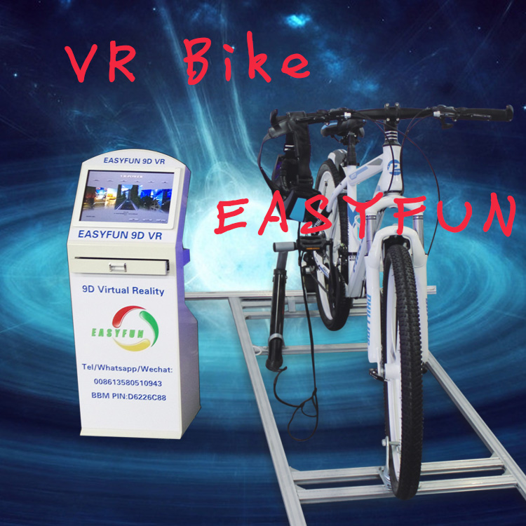 bicycle sitting fitness exercise bike vr fitness bicycle indoor amusement equipment