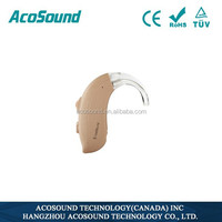 Alibaba AcoSound Acomate 420 BTE High Quality Standard Well Sale Digital Deaf super power hearing aid sonidos