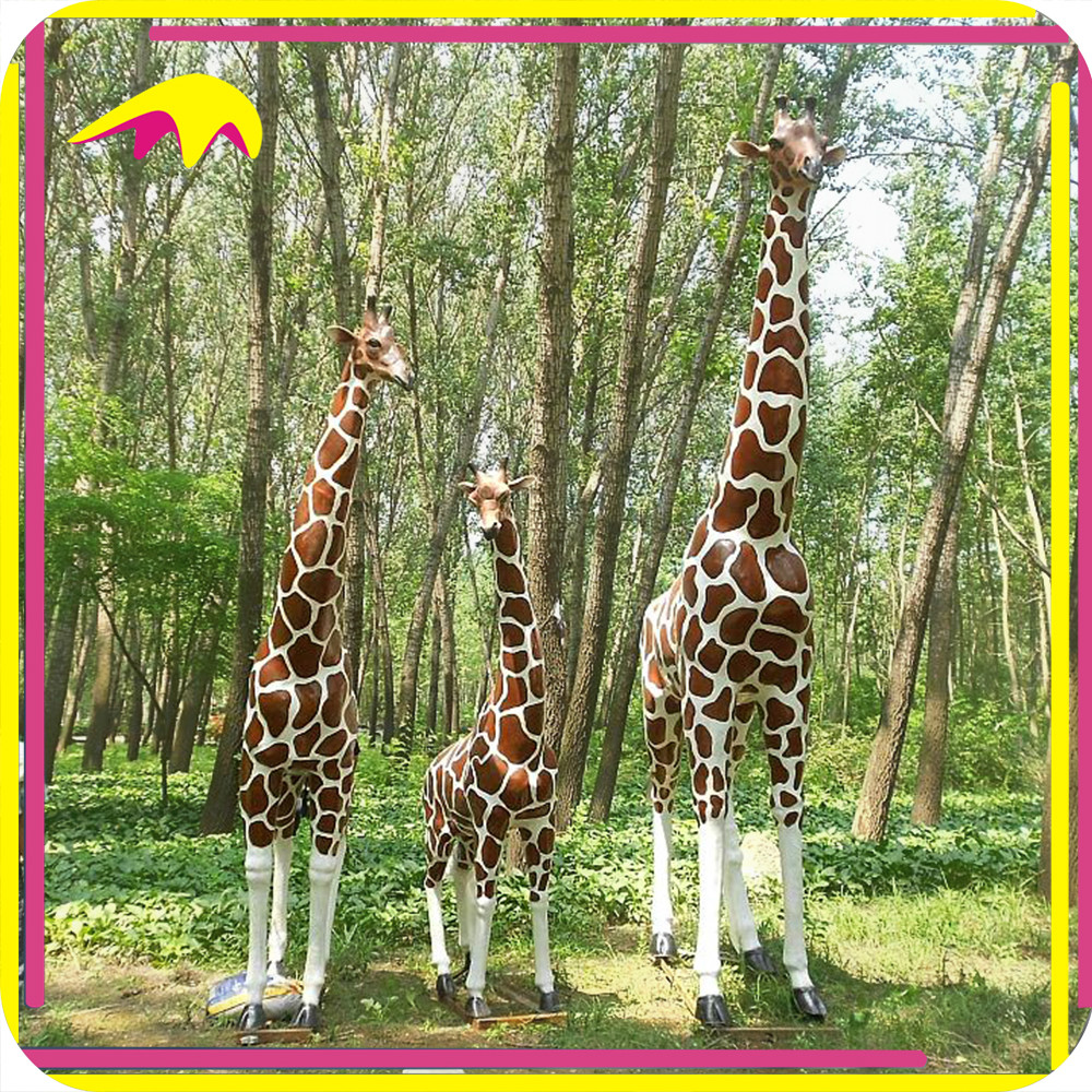 KANO3029 Water Park Wholesale Life-Size Electric Animatronic Giraffe