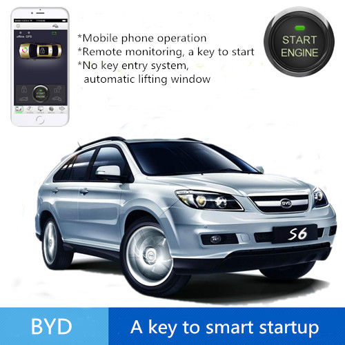GPS/GSM car alarm remote engine start stop system Mobile phone control Auto Safaty System FOR BUD