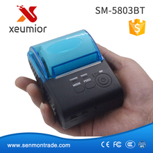 SM-5803BT 2 Inch Android IOS Mobile Thermal Bluetooth Printer for Smartphone Ipad