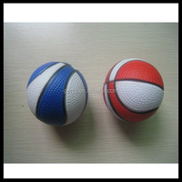 soft squeeze colorful foam basketball