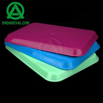 Custom LOGO hot selling dental supply autoclavable plastic tray
