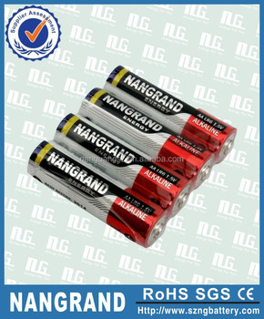 1.5v alkaline battery aa/lr6/am3 1.5v alkaline