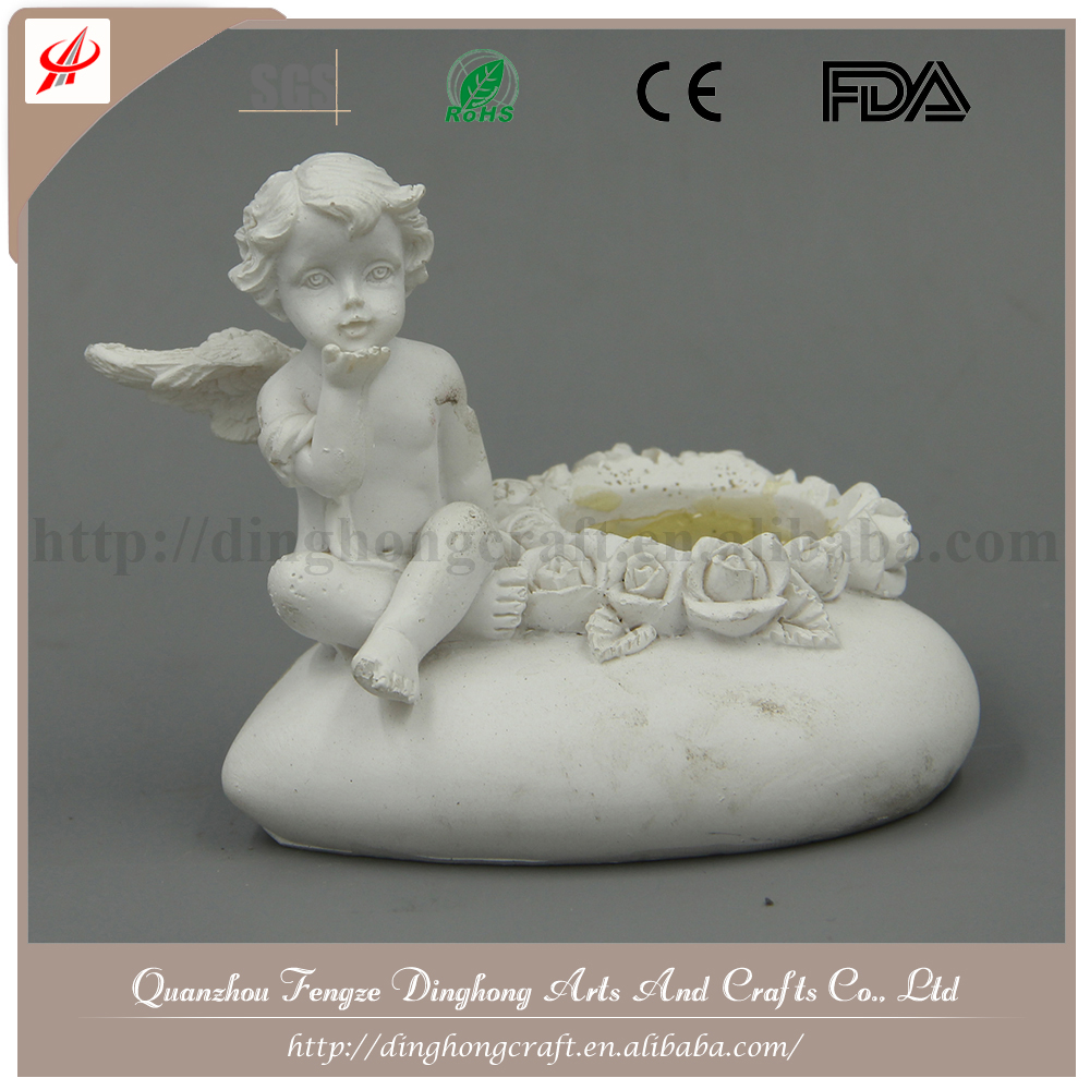 Small Angels And Fairy Figures, Resin Figurine Handmade For Home Decorations