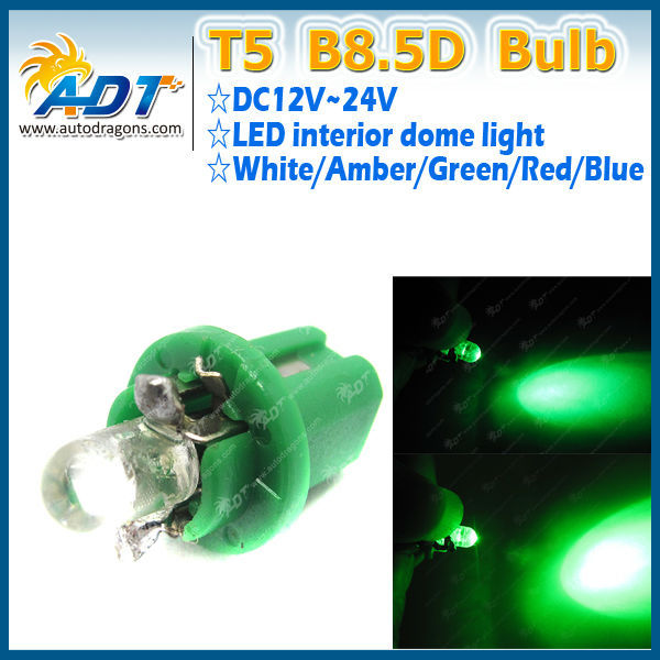 Best Seller Green color B8.5D LED dashboard light