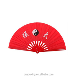 Chinese traditional custom Kung Fu Fan Taiji fan