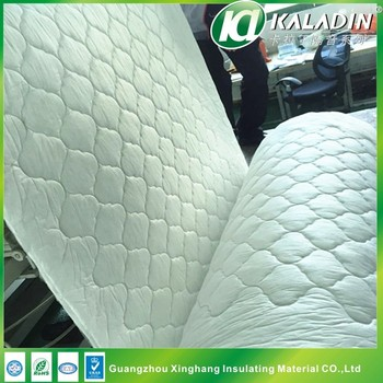White Cotton Soundproofing Material For Car Soundproofing Acoustic Foam Material