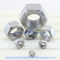 Profession customized DIN934 Hex Nut for railway fastening