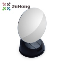 85mm Large Baby Car Mirror Convex Wide Angle Mirror Frameless withBlack/White Suction Cup Blind Spot Mirrors Fully Adjustable