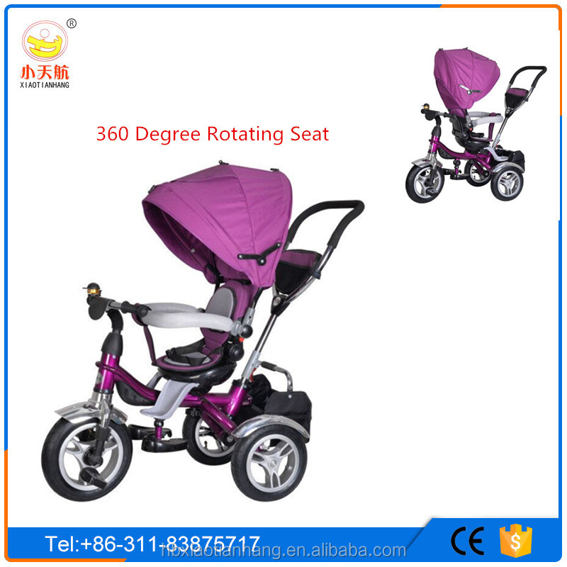 2016 New Model High Quality 360 Degree Rotating Baby Tricycle/Three wheels Cheap price children tricycle/Hot Sale Kids tricycle