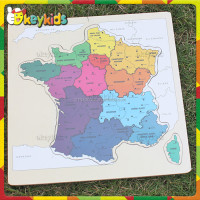 2016 wholesale children wooden world map puzzle,top fashion kids wooden world map puzzle,cheap wooden world map puzzle W14C242