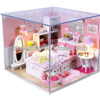 Hot Sales DIY Mini Wooden House