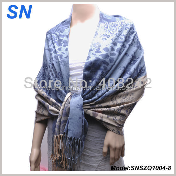 2014 Fashionable alibaba stock cashmere pashmina wholesale