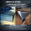 House construction galvanized steel roofing metal tiles