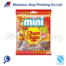 Quality printing plastic food pouch for candy/snacks packaging bag