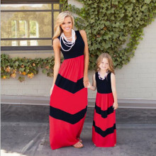 wholesale mom and daughter clothes mommy and me maxi dress