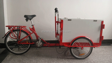 delivery bicycle for cargo / transport bike / cargo bike
