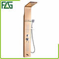 FLG factory supplier 304 stainless steel shower panel with bathroom