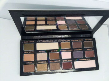 16 Colors Eyeshadow with Cardboard Palette Makeup Cosmetic Factory