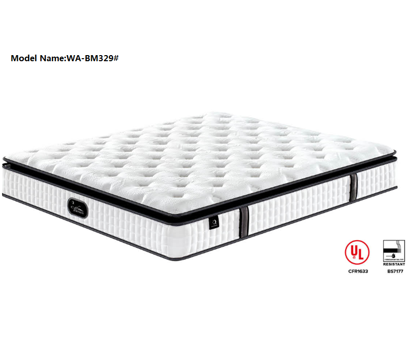 Euro Top Best selling roll up Gel foam bonnell spring mattress - Jozy Mattress | Jozy.net