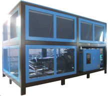 Screw type industrial air cooled water chiller machinery for sale