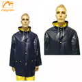 adult pvc plastic rain jacket with hood
