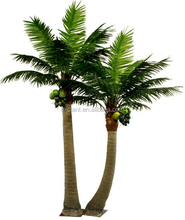 outdoor large artificial decorative palm tree prices anticorrosion coconut trees for sale