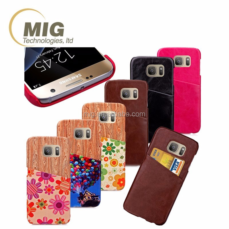 with card slots mobile phone back case For apple iphone 4 leather case For iphone 4s