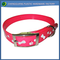 wholesale logo available reflective waterproof led dog collar