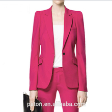 Guangzhou Factory Woman Jackets Apparel For Ladies Formal Blazer OEM